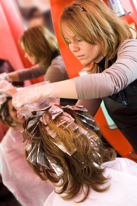 Free Cosmetology Hair Coloring and Texturing State Board Exam Practice.